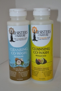 III Sisters of Nature Coconut & Avocado Co-Wash